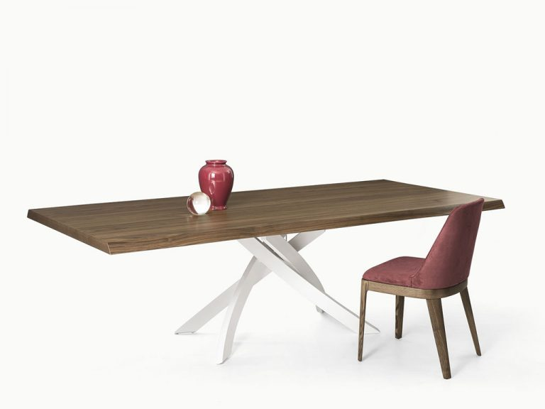 Enjoy modern contemporary home furniture like this fantastic Artistico dining table by Bontempi