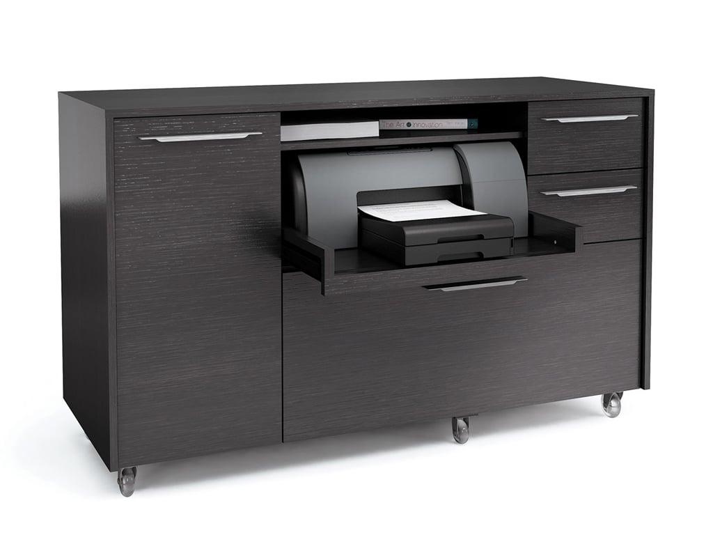 Bdi Format Credenza Black Furnitalia Contemporary Italian Furniture Showroom