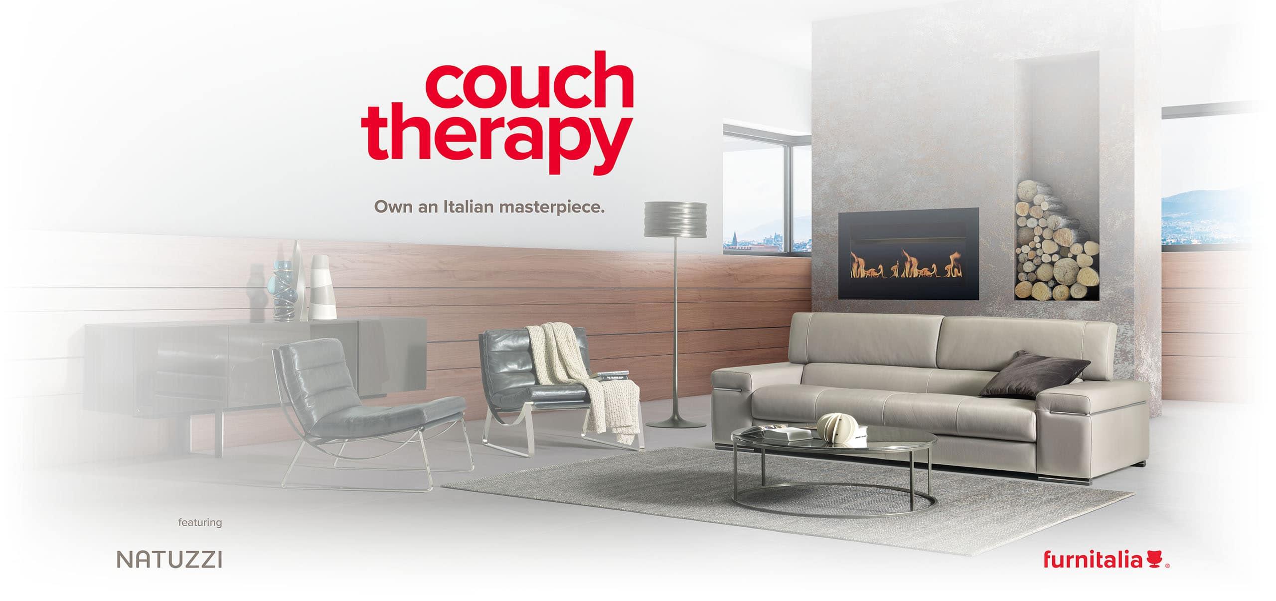 Enjoy modern contemporary home furniture like this Avana sofa from Natuzzi Italia.