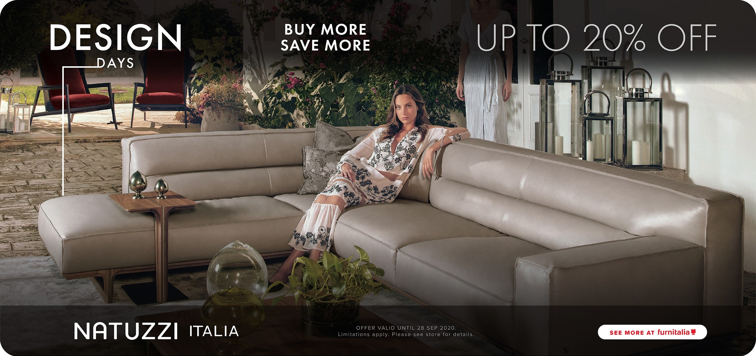 Enjoy your modern contemporary home furniture like this sofa from Natuzzi Italia.