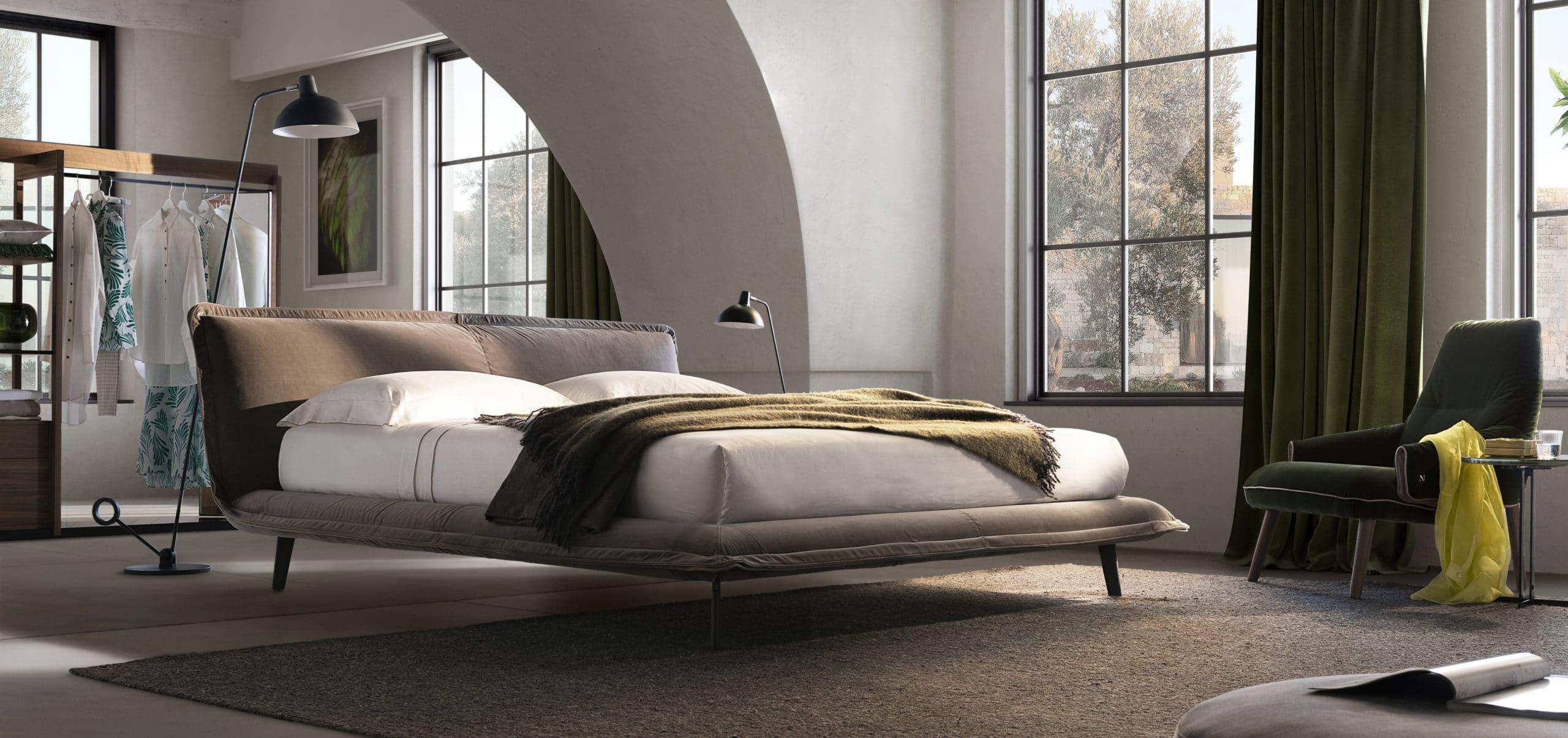 Piuma Bed by Natuzzi Italia