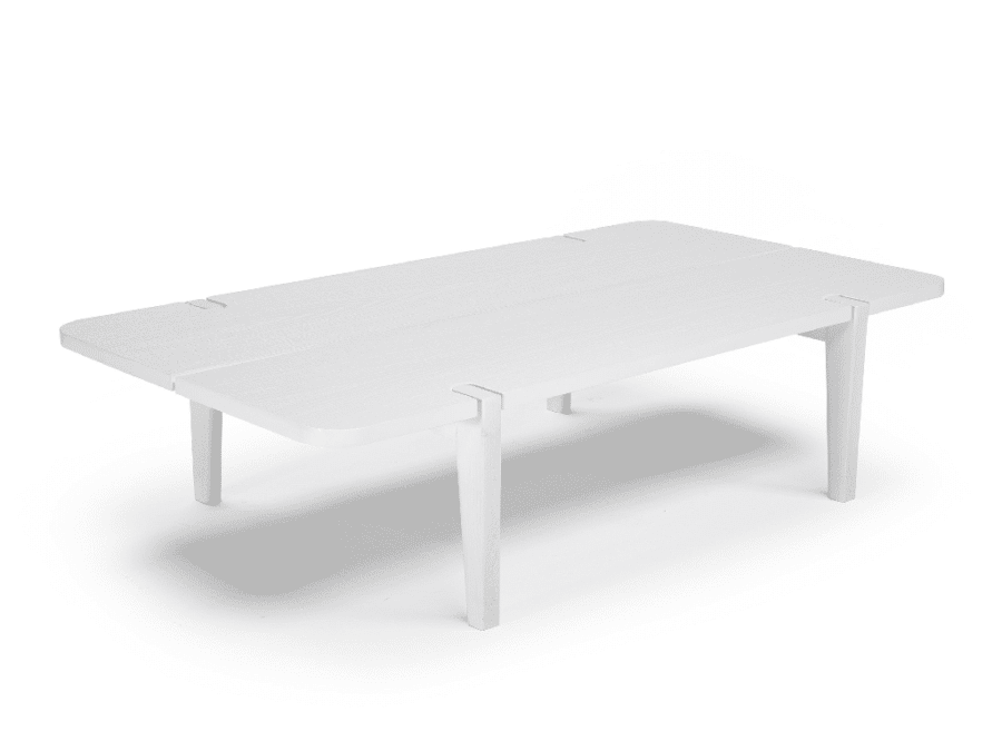 natuzzi editions merlot central table white
