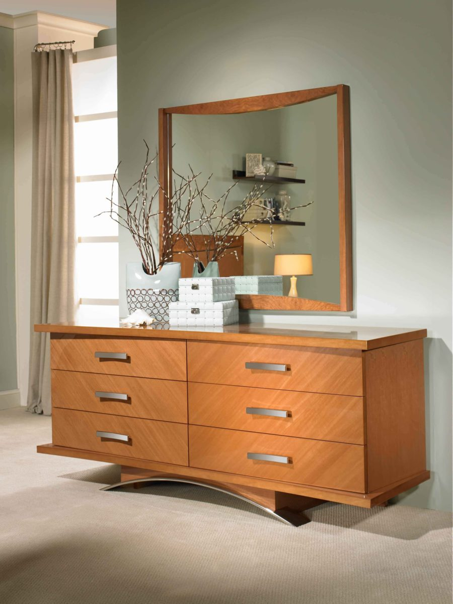 Ceriana dresser and mirror set by Excelsior Designs