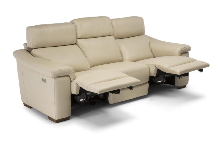 natuzzi editions C115 Giulivo sofa with recliner mechanism