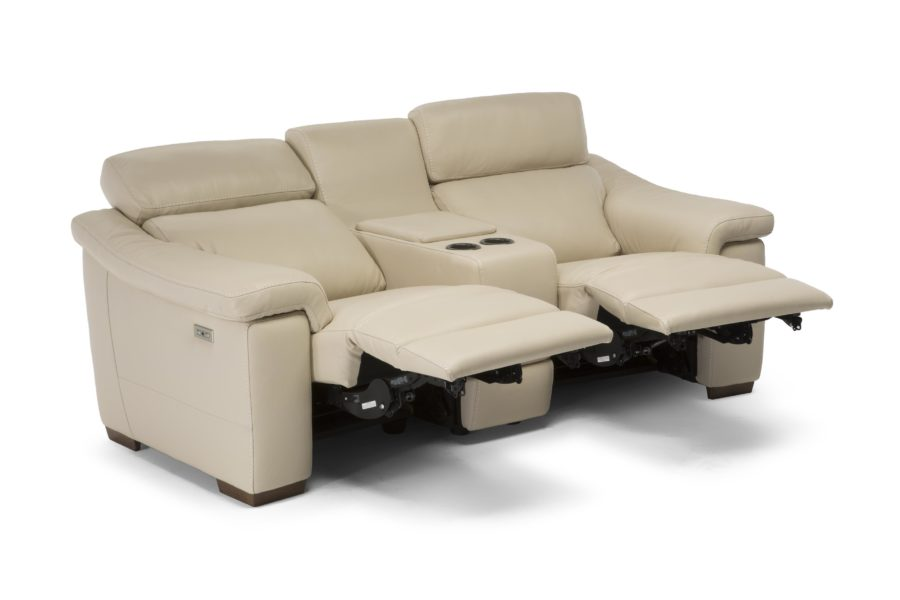 natuzzi editions C115 Giulivo 2-seater sofa with reclining mechanism