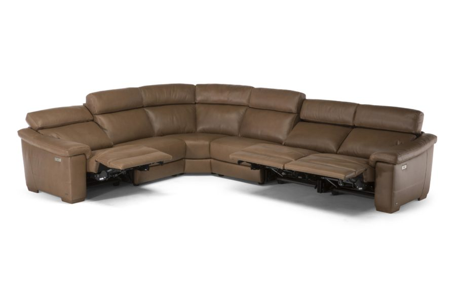 natuzzi editions C115 Giulivo sectional with reclining mechanism