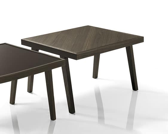 Bontempi Casa David Coffee Table side by side view