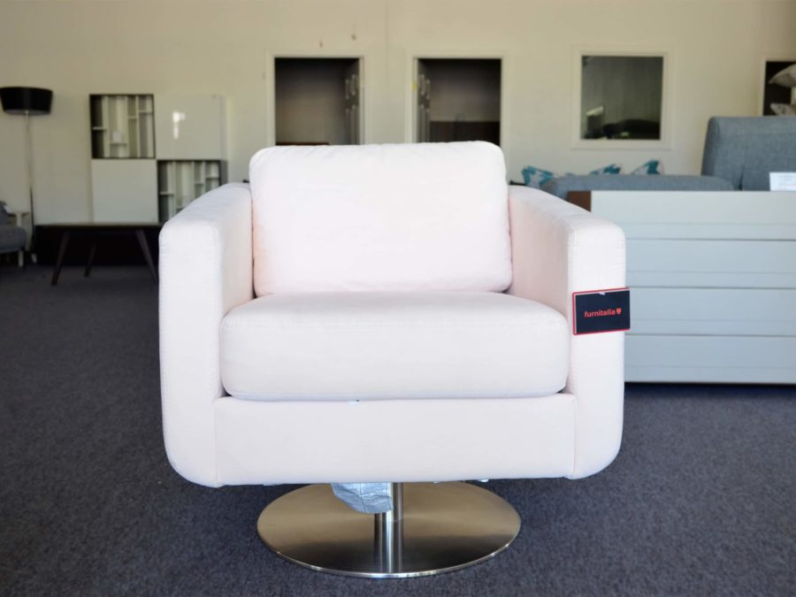 Spin Armchair by Palliser - Champaigne - front view