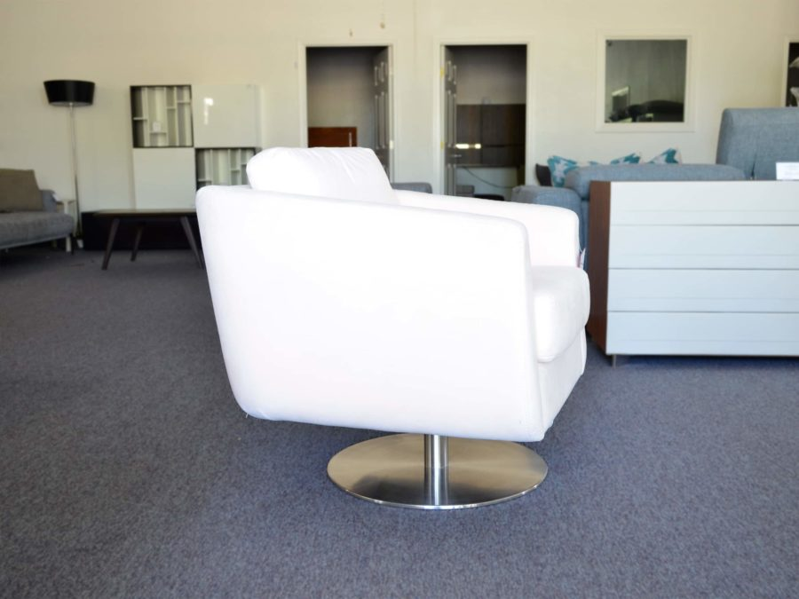Spin Armchair by Palliser - Champaigne - side view