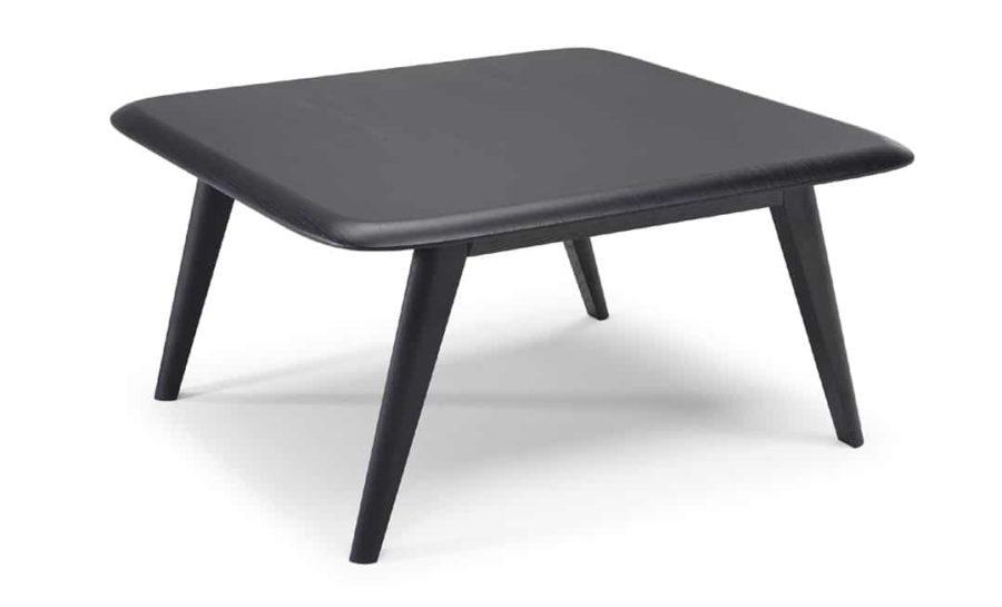 natuzzi editions Chianti T144 square corner table oak