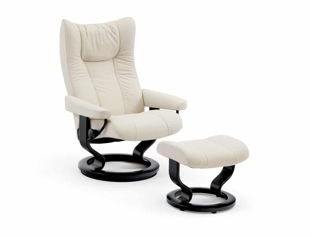 stressless wing classic recliner