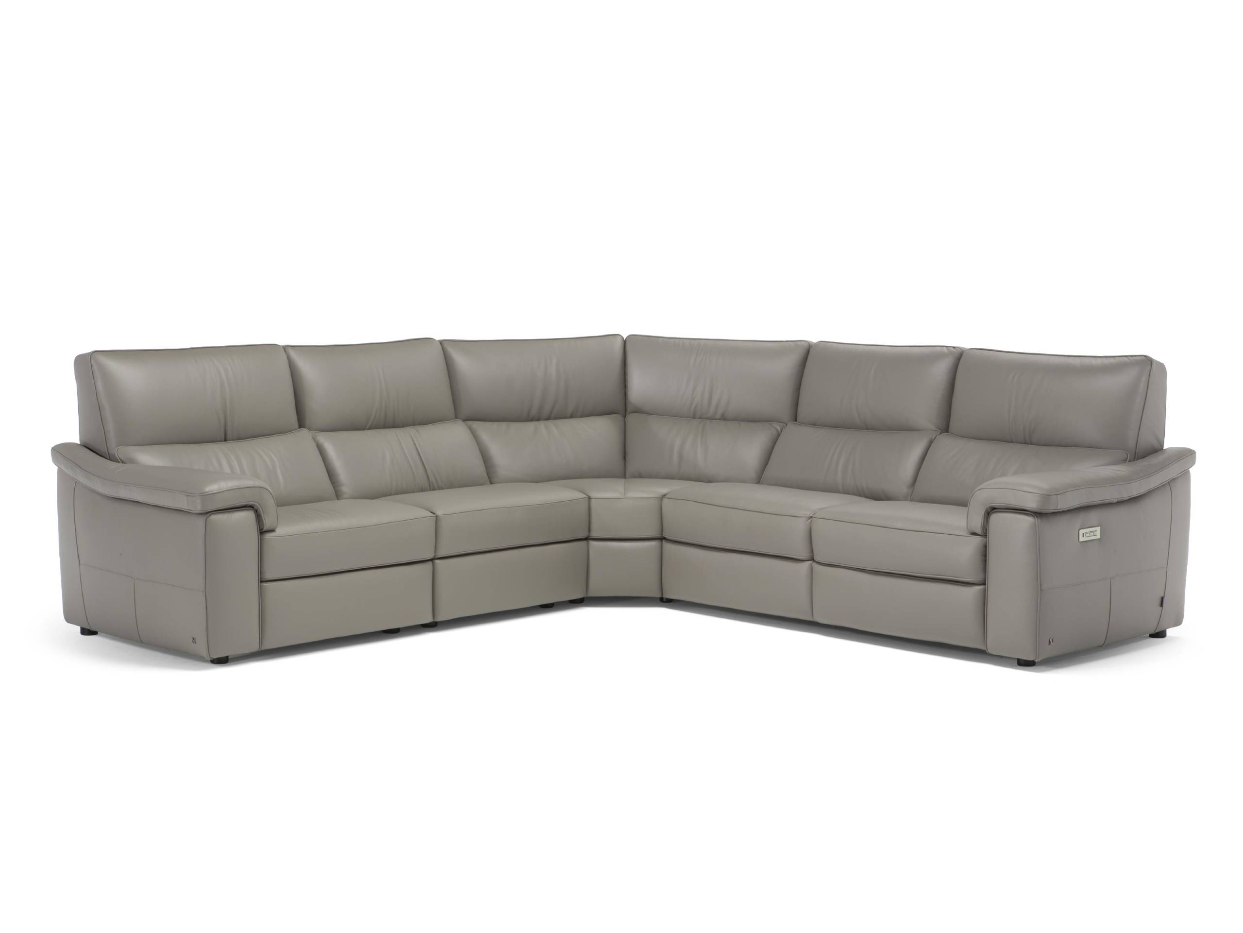 Natuzzi Italia Rock 3062 5-pc sectional with power recliners