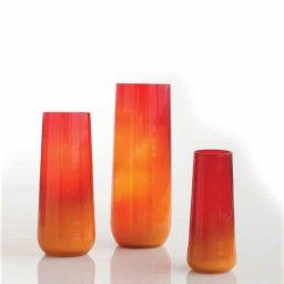Global Views Ombre Taper Vase